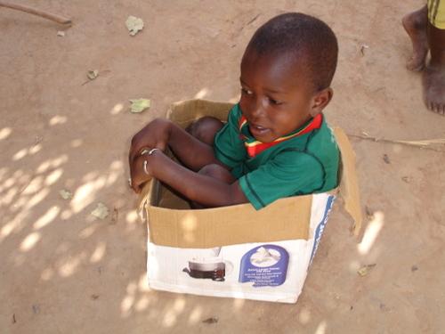 Saamba Drives the Box