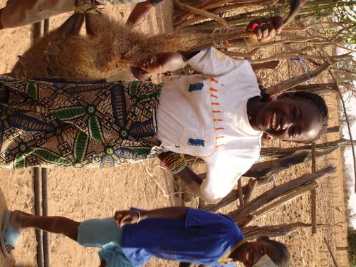 Ndaari Thiom and mongoose